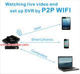 1080P HD DVR de 4 cámaras de seguridad coche Tarjeta SD de 1TB de disco duro