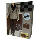 157g Kunstdruckpapier-kundenspezifische preiswerte große Mann-Papier-Einkaufstasche