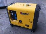Gerador portátil elétrico silencioso Diesel fresco do ar de Kp9500dgfn 7.5kw