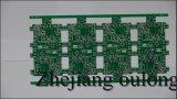 2 층 할은 녹색 솔더 마스크와 무료 PCB 리드