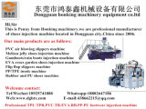 Vulcanisation de la Chine six chaussures de station/machines en caoutchouc pures de semelles