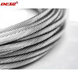 Câble métallique de levage d'acier du carbone/câble 6X36 Iwrc
