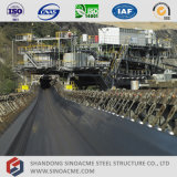 Estructura de acero del transportador prefabricado para la minería