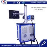 macchina del laser del CO2 30W per il materiale del metallo della marcatura pp non