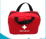 Kit de supervivencia al aire libre de promoción de la bolsa de rojo de emergencia Kit de primeros auxilios para el coche Travel