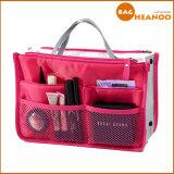 多機能の構成のオルガナイザーの女性の装飾的な洗面用品旅行袋