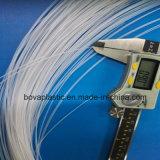 tube extérieur de plastique de pente médicale de graissage de diamètre de 0.8mm