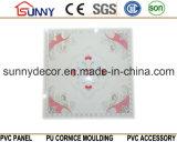 Il soffitto della decorazione del rifornimento del fornitore copre di tegoli il comitato 595*595mm del PVC 603mm 600mm