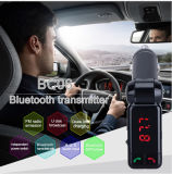 Bc06 Wireless MP3 Player Car Adapter Áudio Bluetooth Car Kit Transmissor FM com 2 portas USB