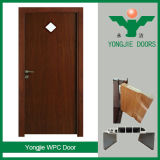 Puerta de WPC con el marco de puerta