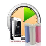 acessórios portáteis do telefone móvel do banco da potência do batom 2600mAh
