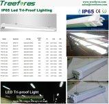 40W 4FT LED 선형 빛 IP65 레이다 비상등 램프