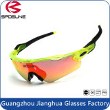 Anti dérapage du best-seller ajusté pour les lunettes de soleil sportives de sport de Sun pour les hommes