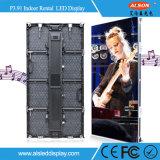 Alquiler P3.91 Pantalla LED de interior para la Etapa