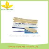 Suministros médicos depresor de lengua de madera desechables para adulto
