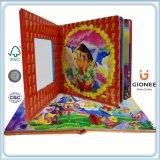 Impression de livres de puzzle pour enfants, Livre de puzzle de Hardcover
