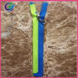 안전 조끼 사용 다채로운 플라스틱 지퍼