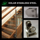 Barandilla del acero inoxidable para la barandilla de la escalera