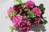 Kleine Blumen-Kugelkünstliche Hydrangea-Blumen für vollständige Jahr-Dekoration