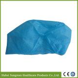 Protezione non tessuta a gettare dell'infermiera con elastico alla parte posteriore