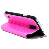 PUの革フリップケースのための革携帯電話の箱