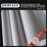 Material de publicidad revestido de la impresión del formato grande de la bandera de la tela del poliester del PVC