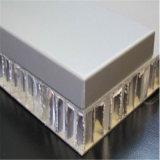 """Panneau de mur extérieur en aluminium des prix FRP de panneau """"sandwich"""" de panneau en aluminium de nid d'abeilles (HR217)"""