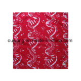 Hot Sale Custom Cheap coton imprimé Foulard au cou à tête carrée