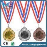 Medaglia d'argento personalizzata alta qualità dell'oro di sfida