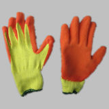 перчатка латекса вкладыша полиэфира 10g Coated химически--5242. или