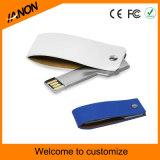 Schlüsselform-Leder USB-Blitz-Laufwerk mit Ihrem Firmenzeichen