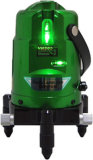 手はDanponレーザーのマルチライン緑レーザーのレベルからのレーザーのレベルのツールに用具を使う