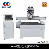 Macchinario del Engraver di CNC con l'asse di rotazione automatico del cambiamento