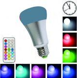 cor esperta da ampola do diodo emissor de luz da energia de 3W 5W 7W 9W E14 E17 E27 RGB com a lâmpada esperta do globo do bulbo Home do diodo emissor de luz da iluminação