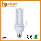 le degré SMD2835 AC85-265V de 2700k-6500k 4u 360 autoguident la lampe d'économie d'énergie de Dimmable d'ampoule de maïs de l'éclairage 18W E27 DEL