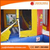 Скольжение замока продуктов игрушки малышей раздувное скача оживлённое комбинированное (T3-103)