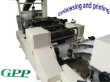 가득 차있는 자동적인 고속 인쇄 냅킨 서류상 접히는 기계