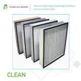 Воздушный фильтр высокой эффективности стеклоткани бумажный HEPA H14 с рамкой