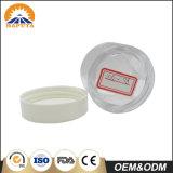 transparentes Plastiksahneglas 80g für Haut-Sorgfalt