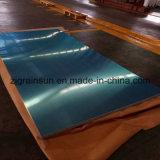 Plaque en aluminium épais pour lampe sans ombre