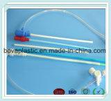 Insieme endovenoso del filtro da trasfusione di sangue delle attrezzature mediche del catetere