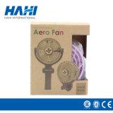 Mini ventilateurs tenus dans la main personnalisés rechargeables de batterie