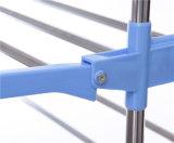 Hi-Quality три слоя одежды вешалки для установки в стойку с колесами для сушки одежды (JP-CR300WMS)
