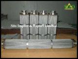 Filtre de cartouche de maille plissé par filtre d'eau/huile d'acier inoxydable
