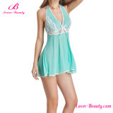 Горячий зеленый сексуальный Nightwear женское бельё