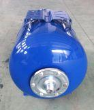 50L炭素鋼自動水ポンプのための水平圧力タンク
