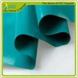 Encerado rayado de la tela del precio impermeable de Manufacure para los materiales exteriores