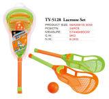 Lustiger im Freienlacrosse-gesetztes Spielzeug