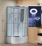 Une douche de vapeur Fabricant, bac à douche en verre Haute boîtier, salle de douche à LED
