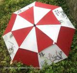 ترقية هبات لعبة غولف مظلة مع علامة تجاريّة طباعة